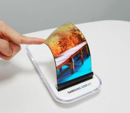 Samsung stretchable AMOLED