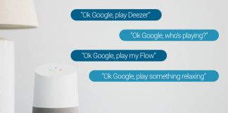 Google Home adds Deezer support