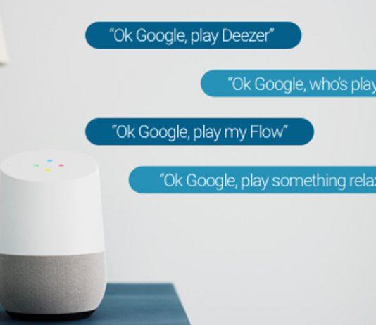 Google Home adds Deezer support