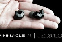 Pinnacle P2 in-ear monitors
