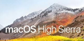 Official: Apple launches macOS High Sierra