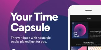 Your Time Capsule .. The new nostalgic feature from Spotify