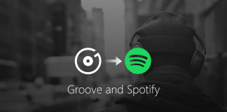 Microsoft Groove Music transition Spotify