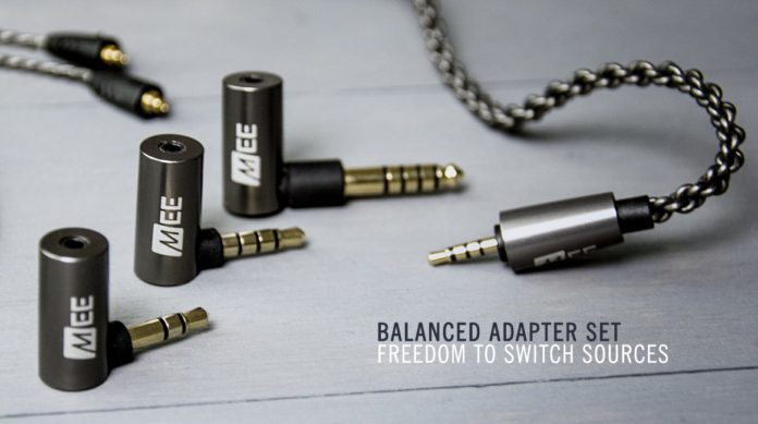 adapter set mmcx cable mee audio