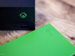 Install external storage on Xbox One