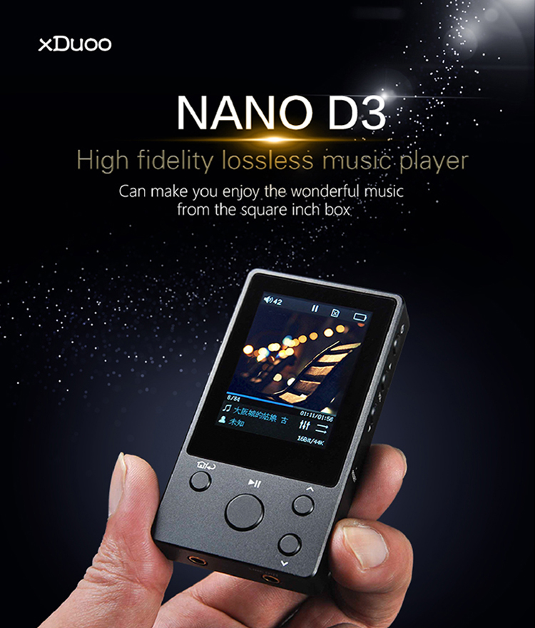 Xduoo Launches Nano D3 Player Samma3a Tech