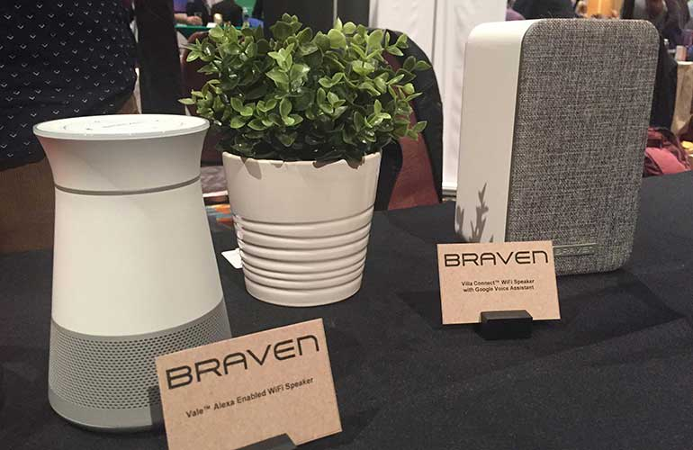 Vale and Villa Connect smart speakers by Braven