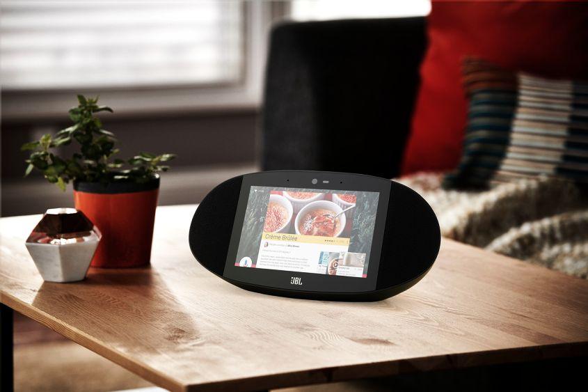 LINK View smart speakers by JBL