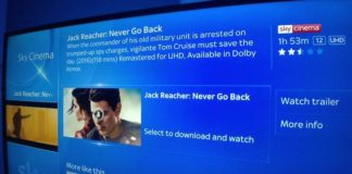 Sky Q provides Dolby Atmos supported Movies