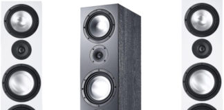 Canton Floorstanding speakers with HDMI input