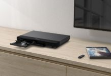 UBP-X700 Blu-ray player from the Sony