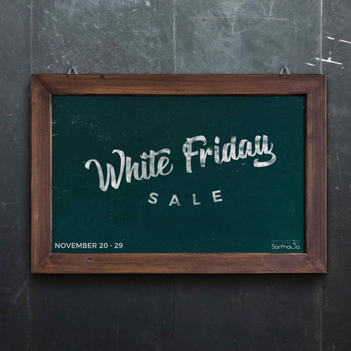 White Friday sales on Samma3a