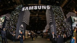 Samsung CES 2018 Booth