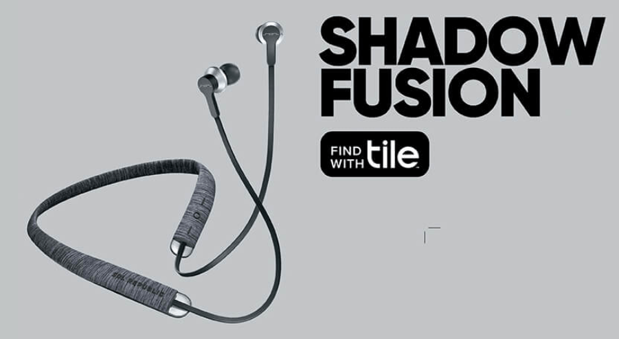 shadow fusion headphones with tile