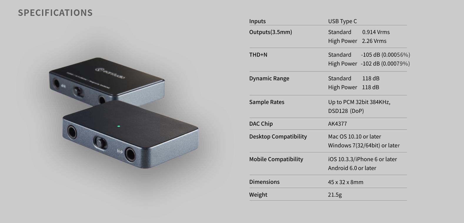 Check Out The EarStudio HUD100 USB DAC - Samma3a Tech