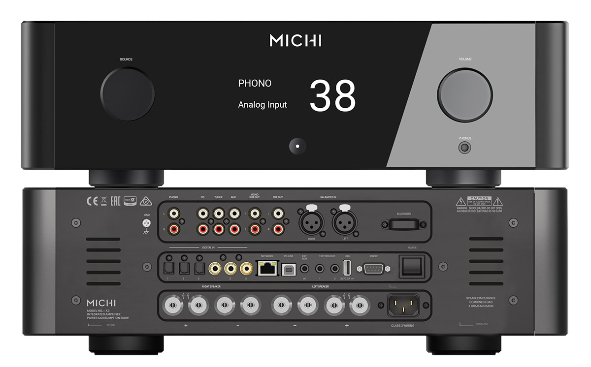 Rotel Announces Michi X3 and X5 Integrated Amplifiers - Samma3a Tech